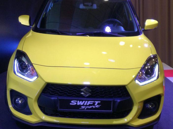 Nuova Suzuki Swift Sport 2018, peso piuma da 140CV - Foto 6 di 34