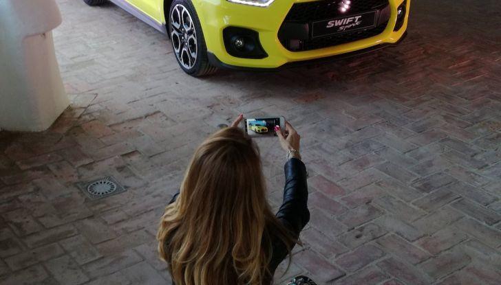 Nuova Suzuki Swift Sport 2018, peso piuma da 140CV - Foto 9 di 34