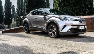 Toyota C-HR 2018: tanto stile e pochi consumi!