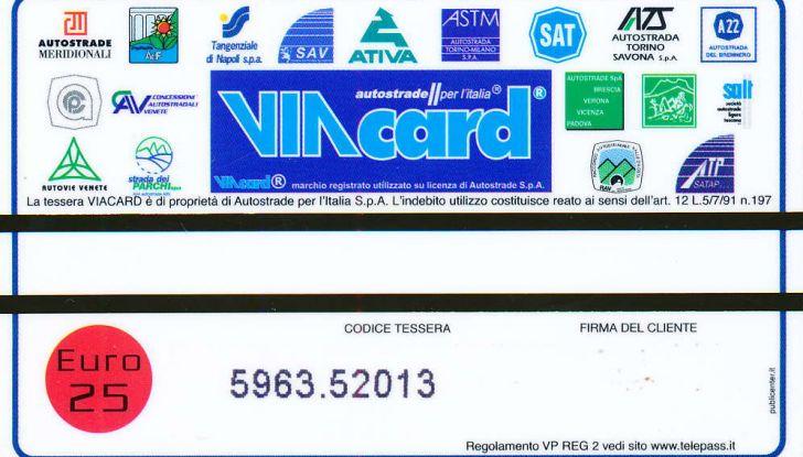 Tutto quello che serve sapere sulla Viacard - Foto 6 di 7