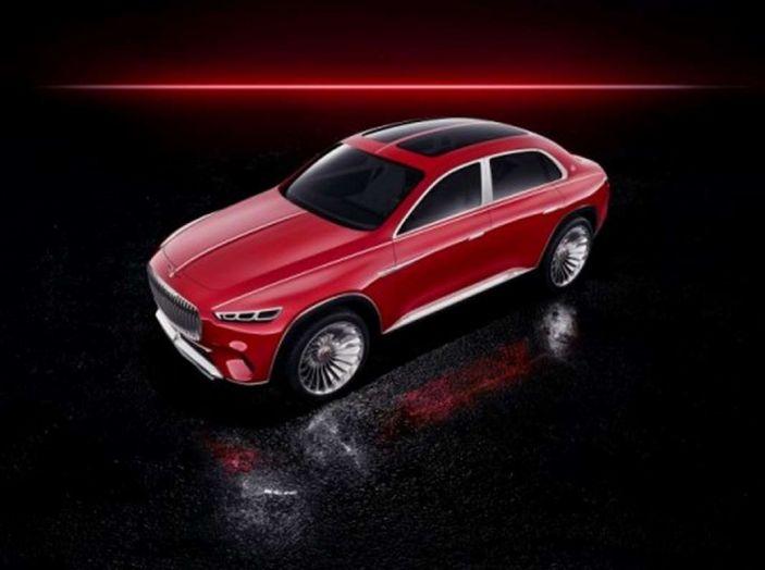 Vision Mercedes-Maybach Ultimate Luxury, il SUV di lusso dai materiali pregiati - Foto 9 di 14