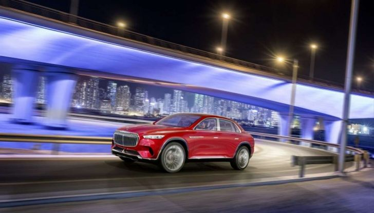 Vision Mercedes-Maybach Ultimate Luxury, il SUV di lusso dai materiali pregiati - Foto 3 di 14