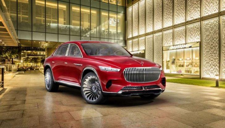 Vision Mercedes-Maybach Ultimate Luxury, il SUV di lusso dai materiali pregiati - Foto 1 di 14