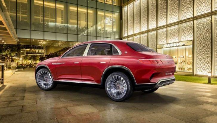 Vision Mercedes-Maybach Ultimate Luxury, il SUV di lusso dai materiali pregiati - Foto 2 di 14