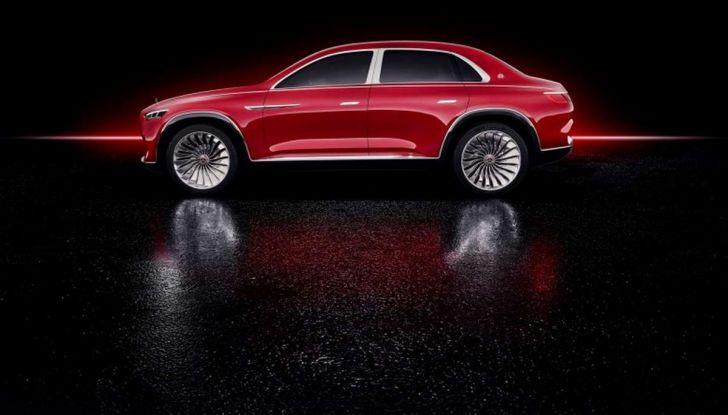 Vision Mercedes-Maybach Ultimate Luxury, il SUV di lusso dai materiali pregiati - Foto 10 di 14