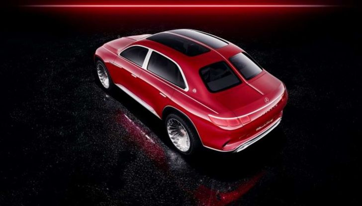 Vision Mercedes-Maybach Ultimate Luxury, il SUV di lusso dai materiali pregiati - Foto 11 di 14