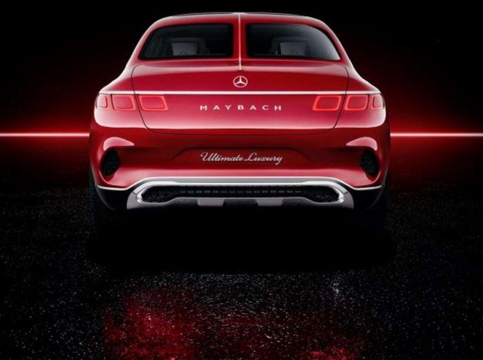 Vision Mercedes-Maybach Ultimate Luxury, il SUV di lusso dai materiali pregiati - Foto 12 di 14