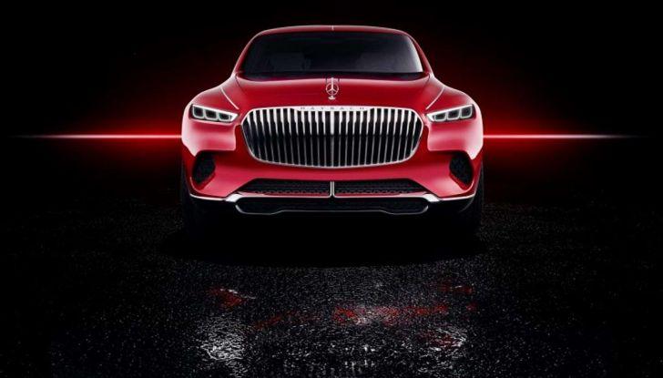 Vision Mercedes-Maybach Ultimate Luxury, il SUV di lusso dai materiali pregiati - Foto 13 di 14