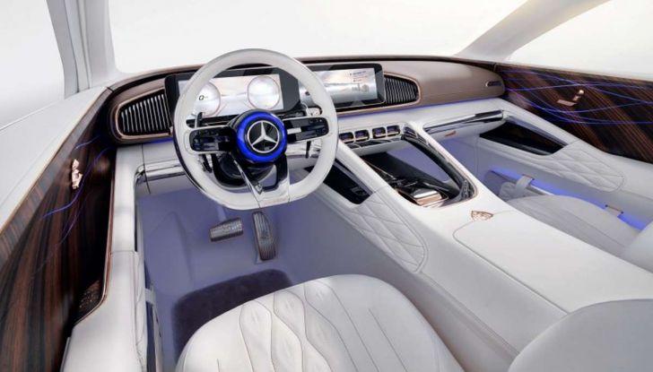 Vision Mercedes-Maybach Ultimate Luxury, il SUV di lusso dai materiali pregiati - Foto 14 di 14