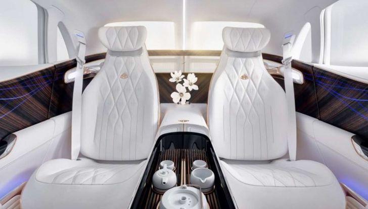Vision Mercedes-Maybach Ultimate Luxury, il SUV di lusso dai materiali pregiati - Foto 8 di 14