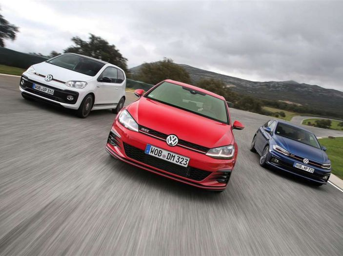 Volkswagen GTI, la gamma dalla up! alla Golf TCR - Foto 2 di 15