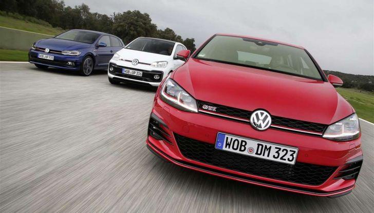 Volkswagen GTI, la gamma dalla up! alla Golf TCR - Foto 5 di 15