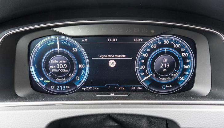 Prova Volkswagen e-Golf 2018: Tanta autonomia, comfort e stile! - Foto 5 di 27