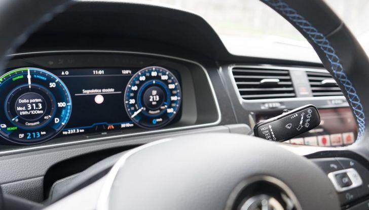 Prova Volkswagen e-Golf 2018: Tanta autonomia, comfort e stile! - Foto 6 di 27