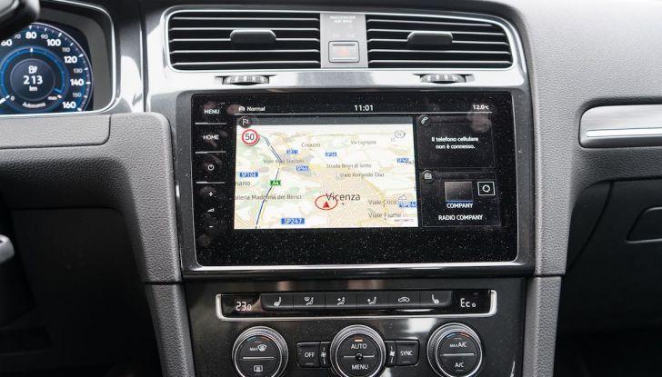 Prova Volkswagen e-Golf 2018: Tanta autonomia, comfort e stile! - Foto 8 di 27