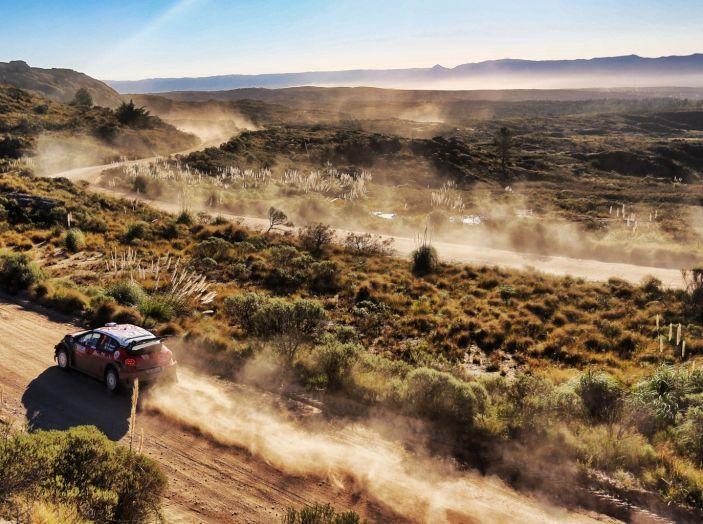 WRC Argentina 2018: il ricordo dei numeri del team Citroën. - Foto 1 di 1