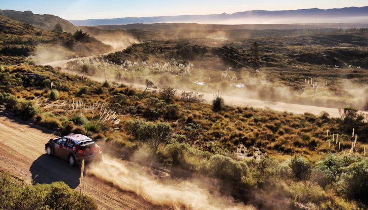 WRC Argentina 2018: il ricordo dei numeri del team Citroën. - Foto  di