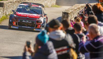 WRC Corsica 2018 – Giorno 1: la C3 WRC di Kris Meek in terza posizione