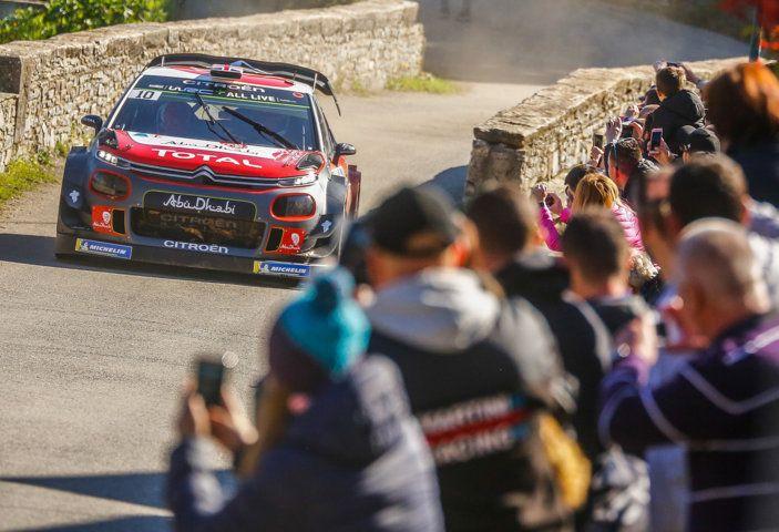 WRC Corsica 2018 – Giorno 1: la C3 WRC di Kris Meek in terza posizione - Foto 1 di 9