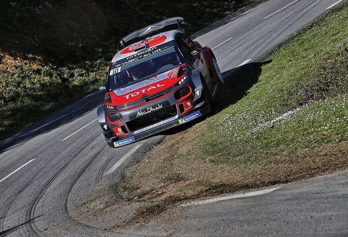 WRC Corsica 2018 – Giorno 1: la C3 WRC di Kris Meek in terza posizione - Foto 2 di 9