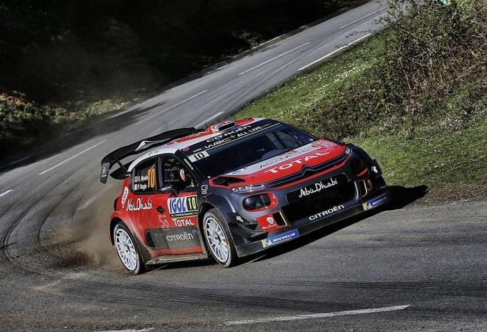 WRC Corsica 2018 – Giorno 1: la C3 WRC di Kris Meek in terza posizione - Foto 3 di 9