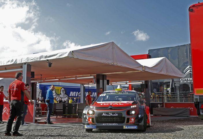 WRC Corsica 2018 – Giorno 1: la C3 WRC di Kris Meek in terza posizione - Foto 6 di 9