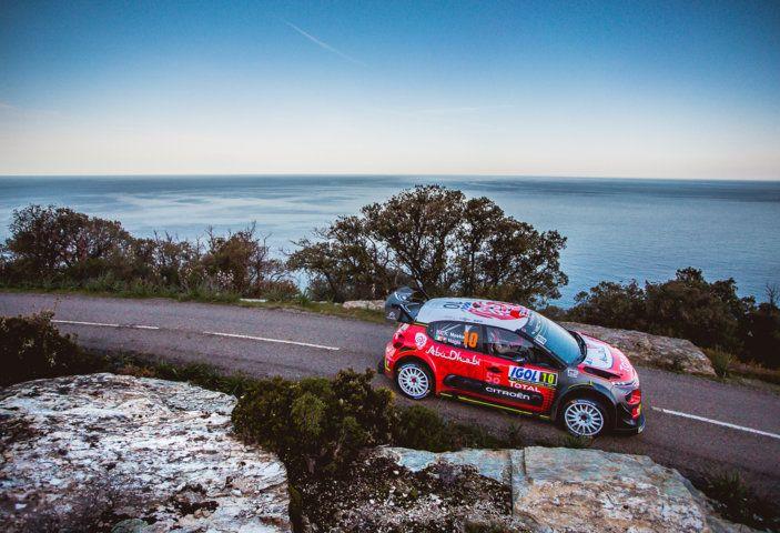 WRC Corsica 2018 – Giorno 2: vicende alterne per le Citroën C3 WRC. - Foto 10 di 11