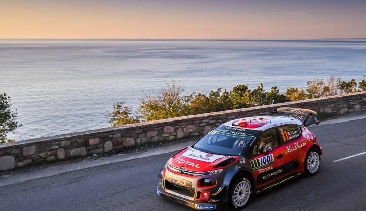 WRC Corsica 2018 – Giorno 2: vicende alterne per le Citroën C3 WRC. - Foto 4 di 11