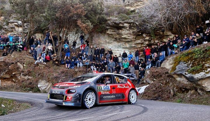 WRC Corsica 2018 – Giorno 2: vicende alterne per le Citroën C3 WRC. - Foto 6 di 11