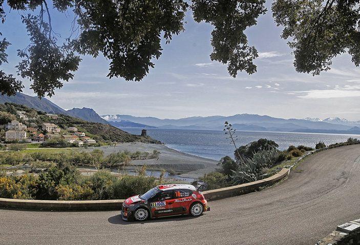 WRC Corsica 2018: la gara vista dal team Citroën - Foto 3 di 3