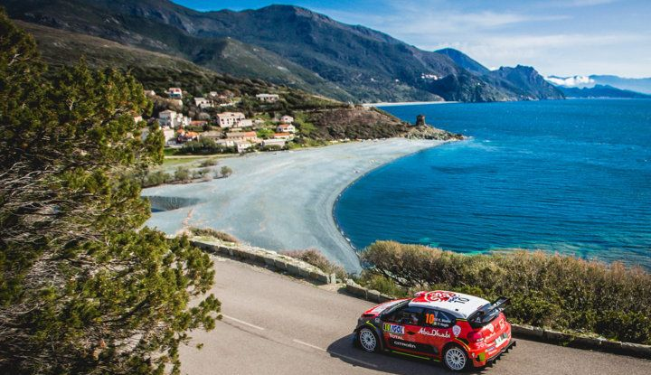 WRC Corsica 2018 – Giorno 3: gran finale per le Citroën C3 WRC nella Power Stage - Foto 1 di 9