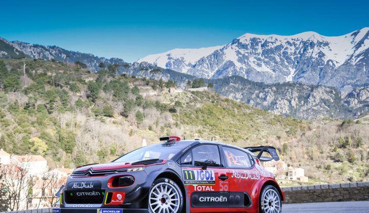 WRC Corsica 2018 – Giorno 3: gran finale per le Citroën C3 WRC nella Power Stage - Foto 2 di 9