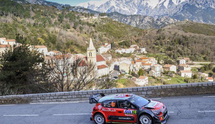WRC Corsica 2018 – Giorno 3: gran finale per le Citroën C3 WRC nella Power Stage - Foto 3 di 9