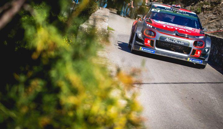 WRC Corsica 2018 – Giorno 3: gran finale per le Citroën C3 WRC nella Power Stage - Foto 5 di 9