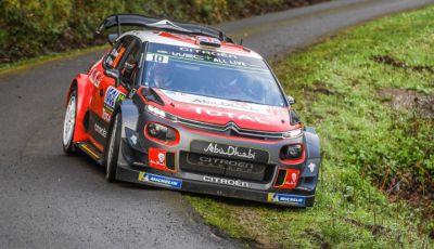 WRC Corsica 2018 – shakedown: le Citroën C3 WRC pronte per la sfida