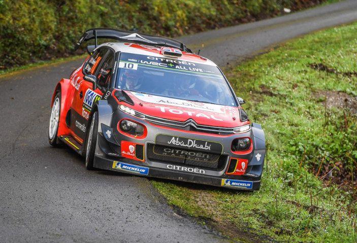 WRC Corsica 2018 – shakedown: le Citroën C3 WRC pronte per la sfida - Foto 1 di 6