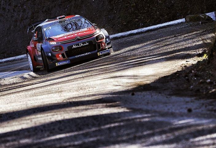 WRC Corsica 2018 – shakedown: le Citroën C3 WRC pronte per la sfida - Foto 4 di 6