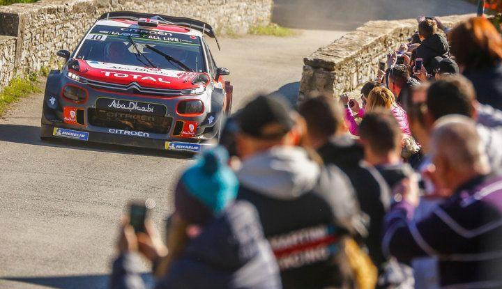 WRC Corsica 2018 – shakedown: le Citroën C3 WRC pronte per la sfida - Foto 5 di 6