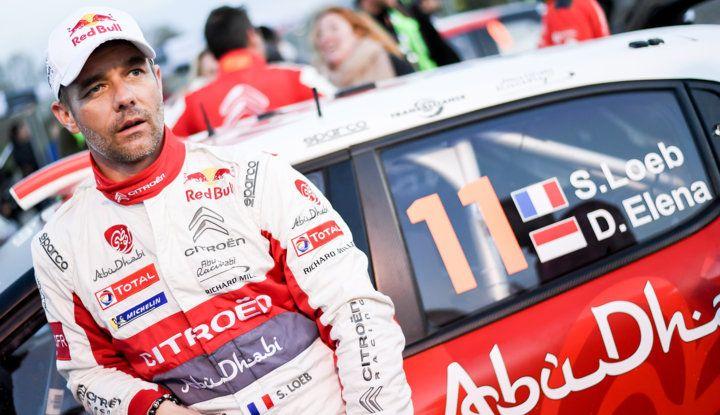 WRC Corsica 2018 – Giorno 3: gran finale per le Citroën C3 WRC nella Power Stage - Foto 8 di 9