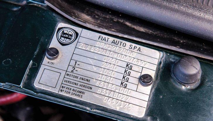 Lancia Delta Integrale HF all'asta con RM Shoteby's a Montecarlo - Foto 15 di 17