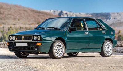 Lancia Delta Integrale HF all'asta con RM Shoteby's a Montecarlo