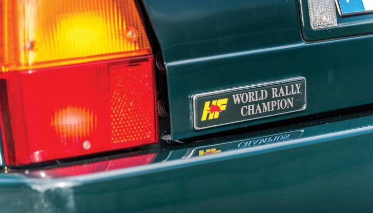 Lancia Delta Integrale HF all'asta con RM Shoteby's a Montecarlo - Foto 9 di 17