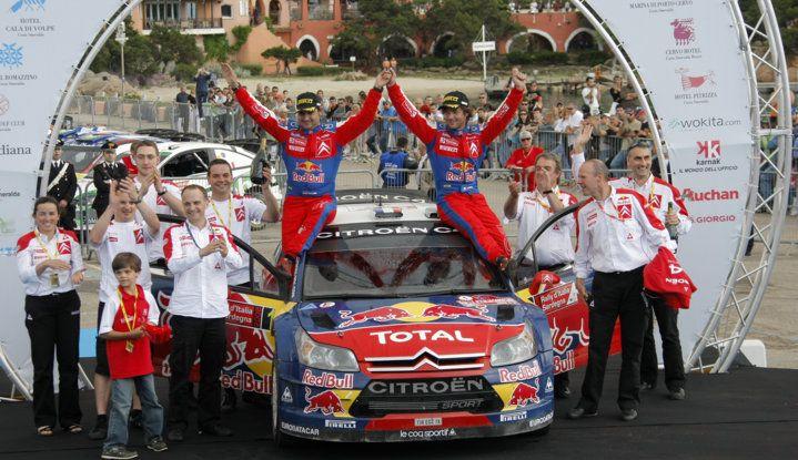 WRC Sardegna: la storia delle vittorie del team Citroën - Foto 7 di 7
