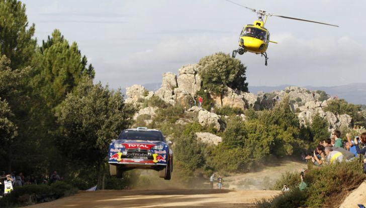 WRC Sardegna: la storia delle vittorie del team Citroën - Foto 1 di 7