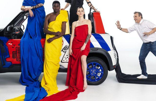 Art Car E-MEHARI: un'opera esclusiva per i 50 anni di Citroën Mehari - Foto 11 di 14