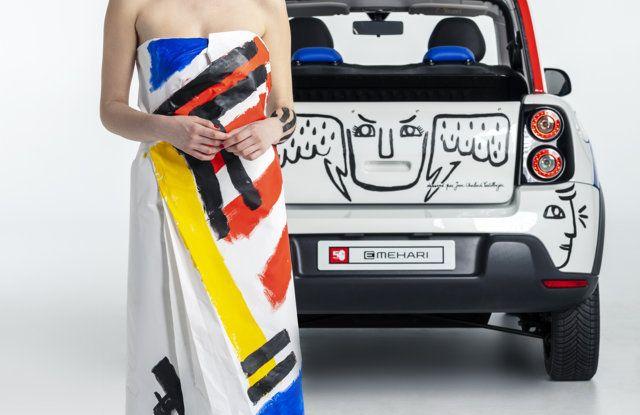 Art Car E-MEHARI: un'opera esclusiva per i 50 anni di Citroën Mehari - Foto 8 di 14