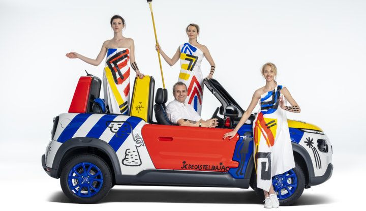 Art Car E-MEHARI: un'opera esclusiva per i 50 anni di Citroën Mehari - Foto 9 di 14