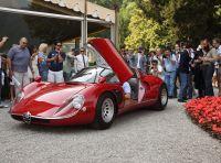 Alfa Romeo 33 Stradale premiata a Villa d'Este 2018 con la Coppa d'Oro