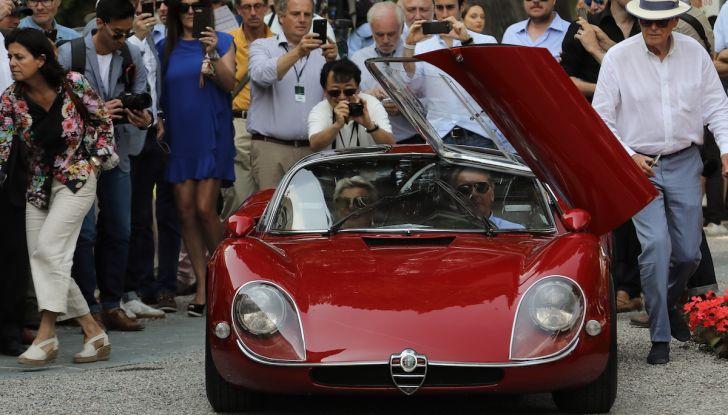Alfa Romeo 33 Stradale premiata a Villa d'Este 2018 con la Coppa d'Oro - Foto 2 di 4