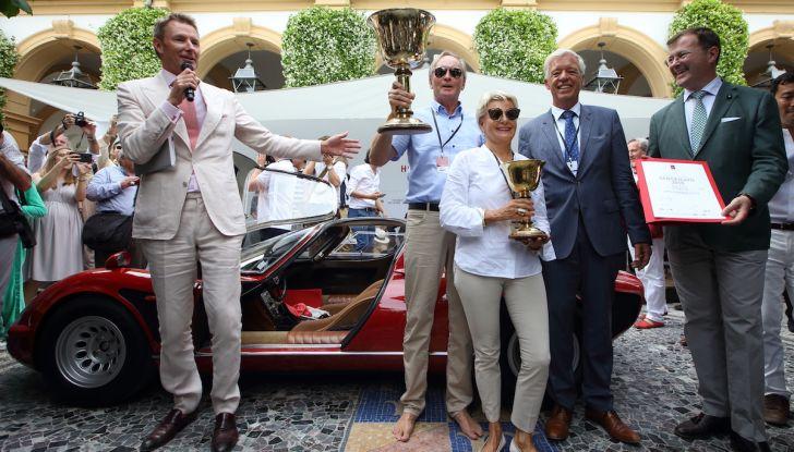 Alfa Romeo 33 Stradale premiata a Villa d'Este 2018 con la Coppa d'Oro - Foto 4 di 4